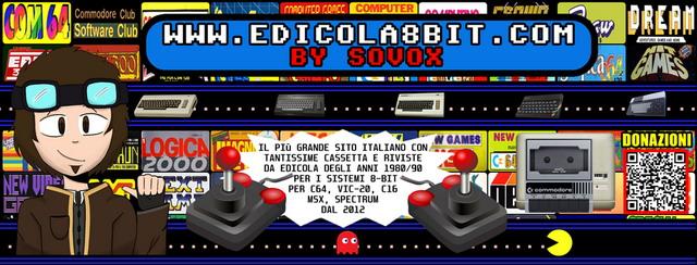 Edicola 8 Bit by Sovox